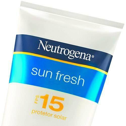 Protetor Solar Neutrogena Sun Fresh Fps-15 120ml
