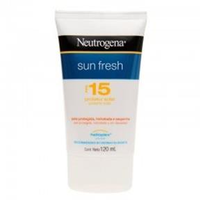 Protetor Solar Neutrogena Sun Fresh Fps 15 120Ml