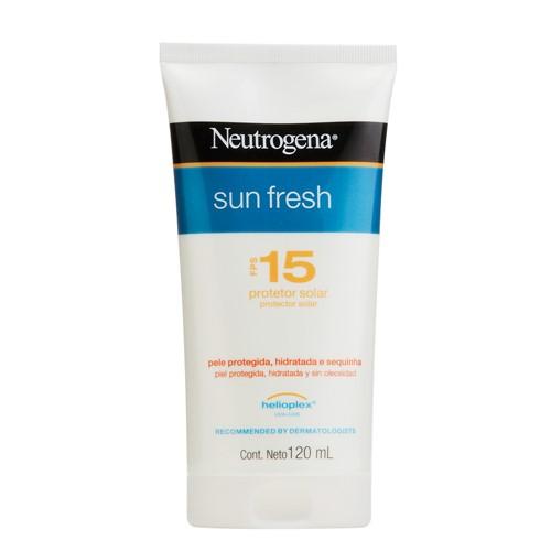 Protetor Solar Neutrogena Sun Fresh FPS 15 Loção com 120ml