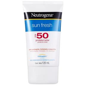 Protetor Solar Neutrogena Sun Fresh FPS 50 120ml - 120ml