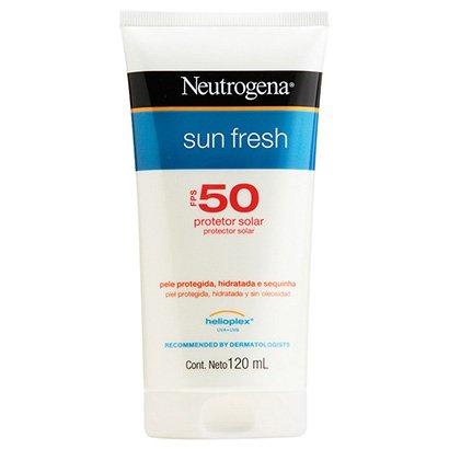 Protetor Solar Neutrogena Sun Fresh FPS 50 120ml