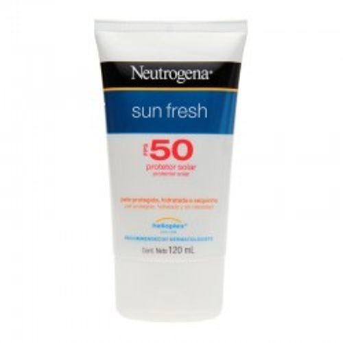 Protetor Solar Neutrogena Sun Fresh Fps- 50 120ml