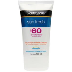 Protetor Solar Neutrogena Sun Fresh Fps 60 - 200ml - 120ml