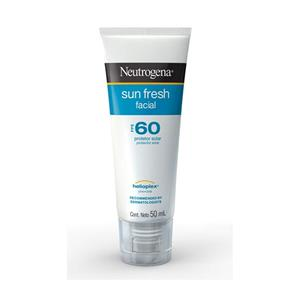 Protetor Solar Neutrogena Sun Fresh FPS 60 Loção Facial - 50ml
