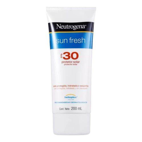 Protetor Solar Neutrogena Sun Fresh Fps30 200ml