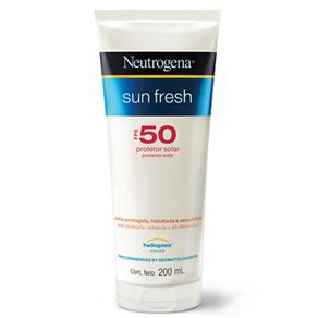 Protetor Solar Neutrogena Sun Fresh FPS50 – 200 Ml