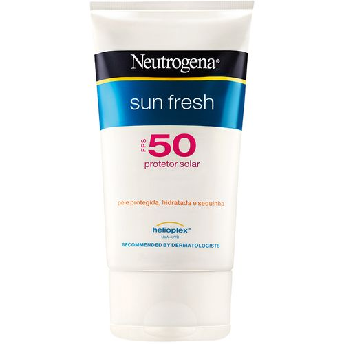 Protetor Solar Neutrogena Sun Fresh Fps50 120ml Protetor Solar Neutrogena Sun Fresh Fps50 120ml