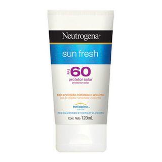 Protetor Solar Neutrogena Sun Fresh FPS60 120ml