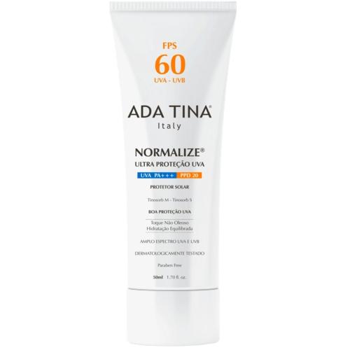 Protetor Solar Normalize Ada Tina Fps 60
