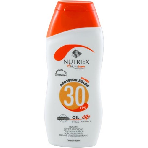 Protetor Solar Nutriex Fps-30 120ml