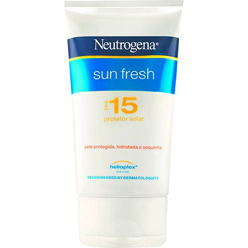 Protetor Solar Sun Fresh FPS 15 120ml Neutrogena