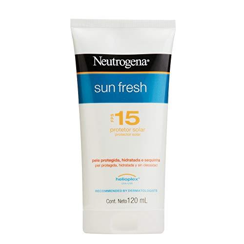 Protetor Solar Sun Fresh FPS 15, Neutrogena, 120Ml