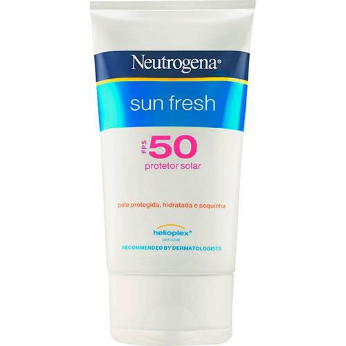 Protetor Solar Sun Fresh FPS 50 120ml Neutrogena