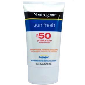 Protetor Solar Sun Fresh Fps 50 Neutrogena - 120ml - 120ml