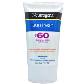 Protetor Solar Sun Fresh Fps 60 Neutrogena - 120ml - 120ml