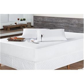Protetor Travesseiro Impermeável 01 Peça 70cm X 50cm - Branco