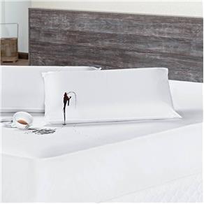 Protetor Travesseiro Impermeável Branco 01 Peça 70cm X 50cm - Branco