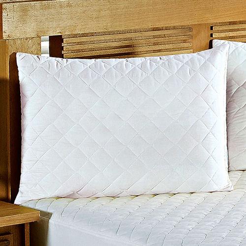 Protetor Travesseiro Impermeável Branco 1 Peça