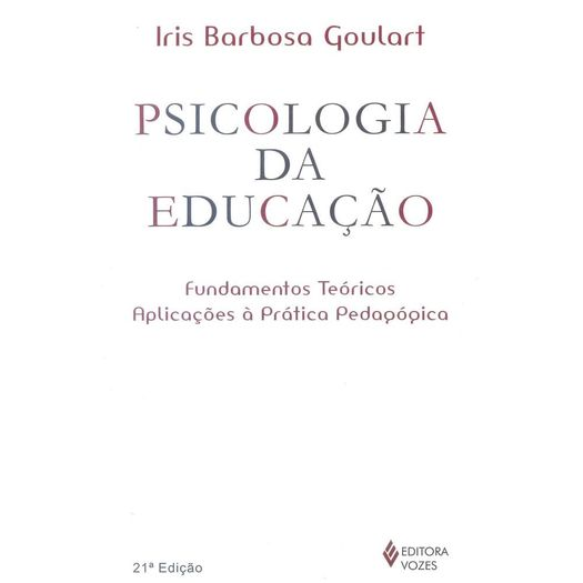 Psicologia da Educacao - Vozes