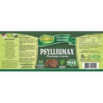 Psyllium 60 Cápsulas Psylliumax Unilife