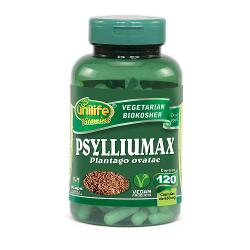 Psylliumax 120 Cápsulas 550mg Psyllium - Unilife