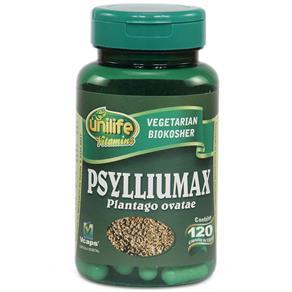 Psylliumax 550mg Psyllium - Unilife - Natural - 120 Cápsulas