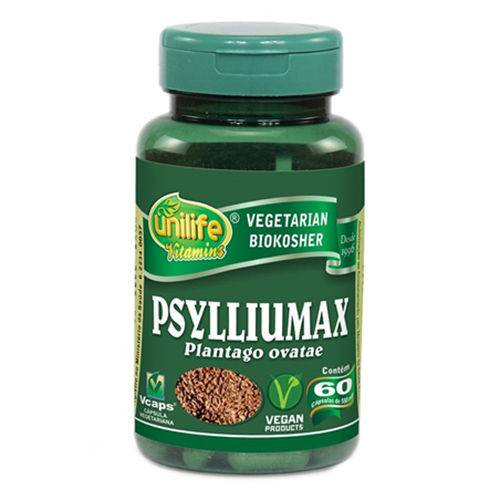 Psylliumax 60 Cápsulas 550mg Unilife