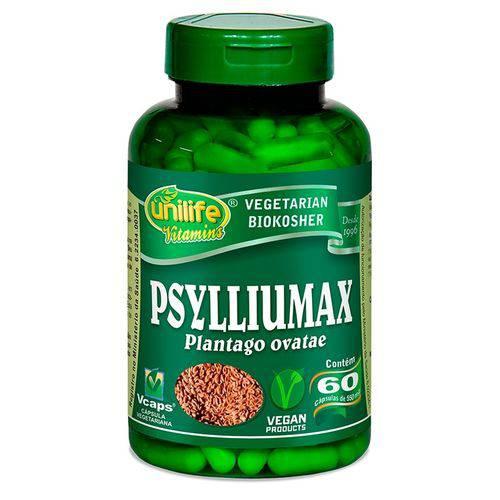 Psylliumax Psyllium 550mg 60 Capsulas