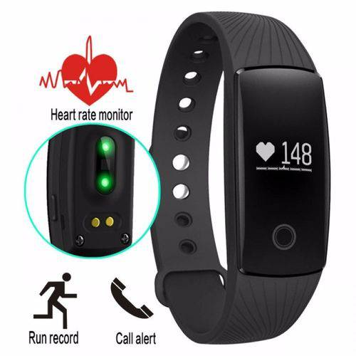 Tudo sobre 'Pulseira Inteligente Smartband Id107 Monitor Cardíaco'