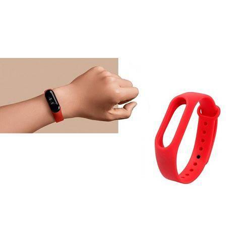 Tudo sobre 'Pulseira Relógio Xiaomi Mi Band 3 Vermelha'