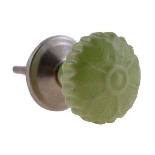 Puxador de Cerâmica 3079 Verde Le Souk