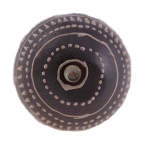 Puxador de Cerâmica 3086 Marrom Le Souk Le Souk