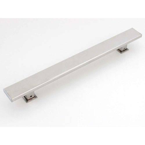 Tudo sobre 'Puxador Duplo para Porta Planus 30cm Eco Geris Inox Escovado'