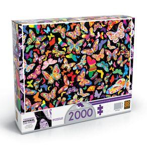 Tudo sobre 'Puzzle 2000 Peças Borboletas'
