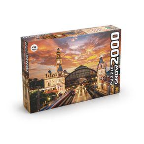 Tudo sobre 'Puzzle 2000 Peças Estação da Luz'