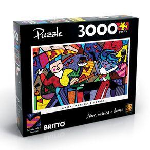 Tudo sobre 'Puzzle 3000 Peças Romero Britto'