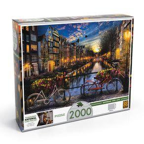 Tudo sobre 'Puzzle 2000 Peças Verão em Amsterdã'