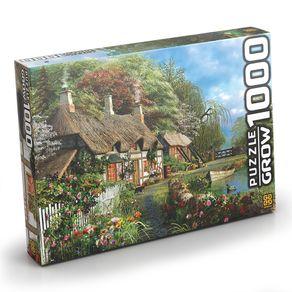 Tudo sobre 'Puzzle 1000 Peças Casa no Lago'