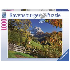 Tudo sobre 'Puzzle 1000 Peças Outono Nas Montanhas - Ravensburger - Importado'
