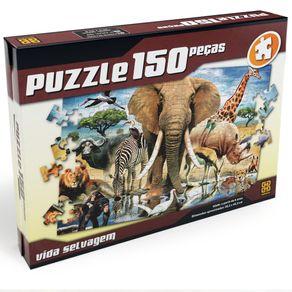 Tudo sobre 'Puzzle 150 Peças Vida Selvagem'