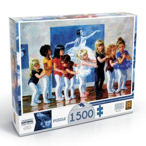 Tudo sobre 'Puzzle 1500 Peças Bailarinas'