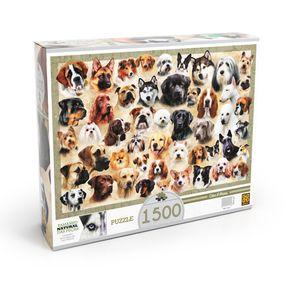 Tudo sobre 'Puzzle 1500 Peças Cães & Raças'