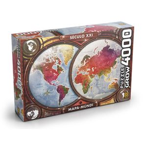 Tudo sobre 'Puzzle 4000 Peças Mapa-Múndi'