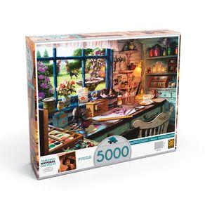 Tudo sobre 'Puzzle 5000 Peças Ateliê'