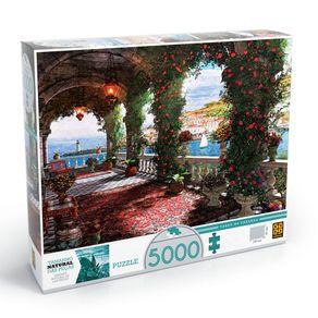 Tudo sobre 'Puzzle 5000 Peças Tarde na Varanda'