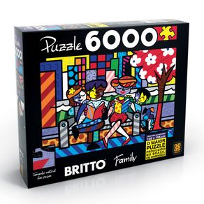 Tudo sobre 'Puzzle 6000 Peças Romero Britto - Family'