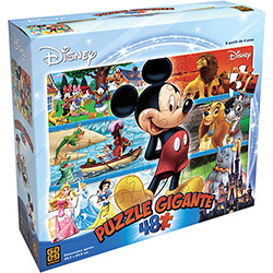 Puzzle Gigante 48 Disney - Grow