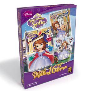 Tudo sobre 'Puzzle Progressivo Princesinha Sofia'