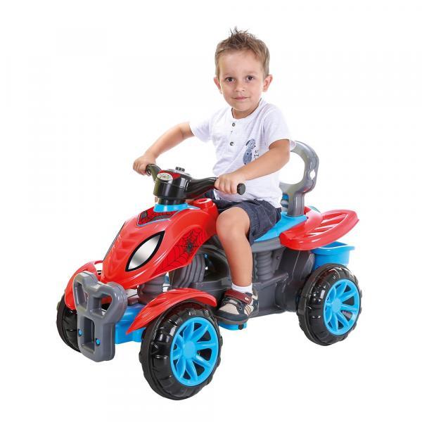 Tudo sobre 'Quadriciclo Infantil Spider Maral'