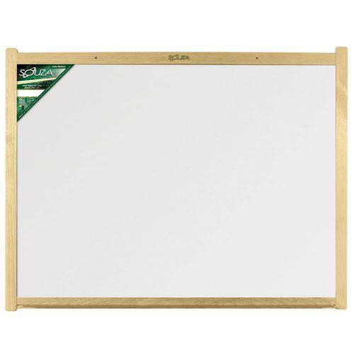 Tudo sobre 'Quadro Branco Standard Madeira 50x70cm - Souza'